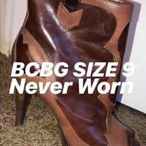BCBG booties